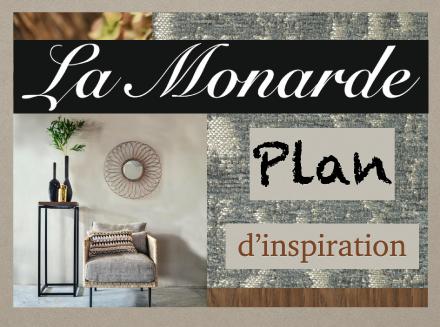 la Monarde plan d'inspiration