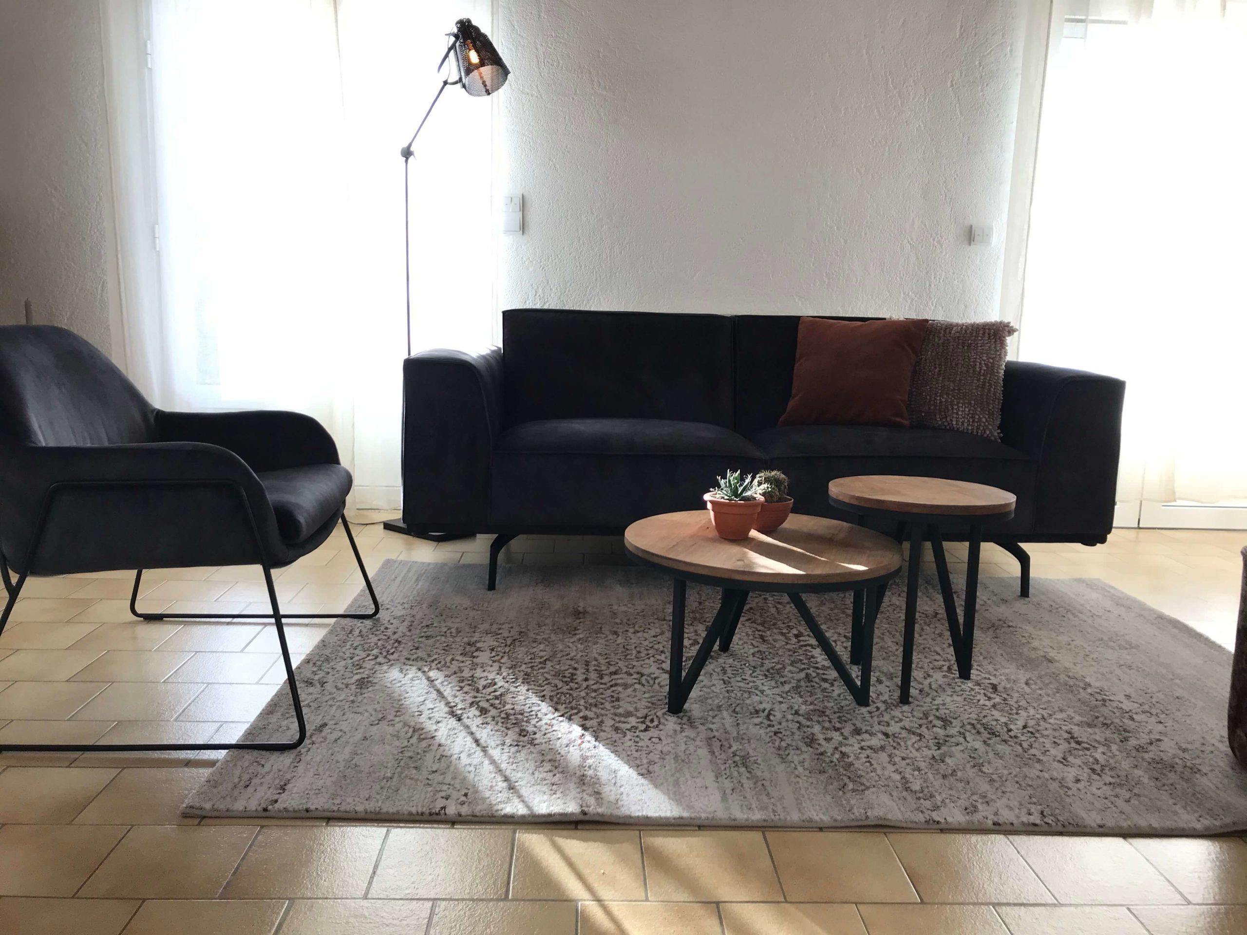 canapé salon particulier