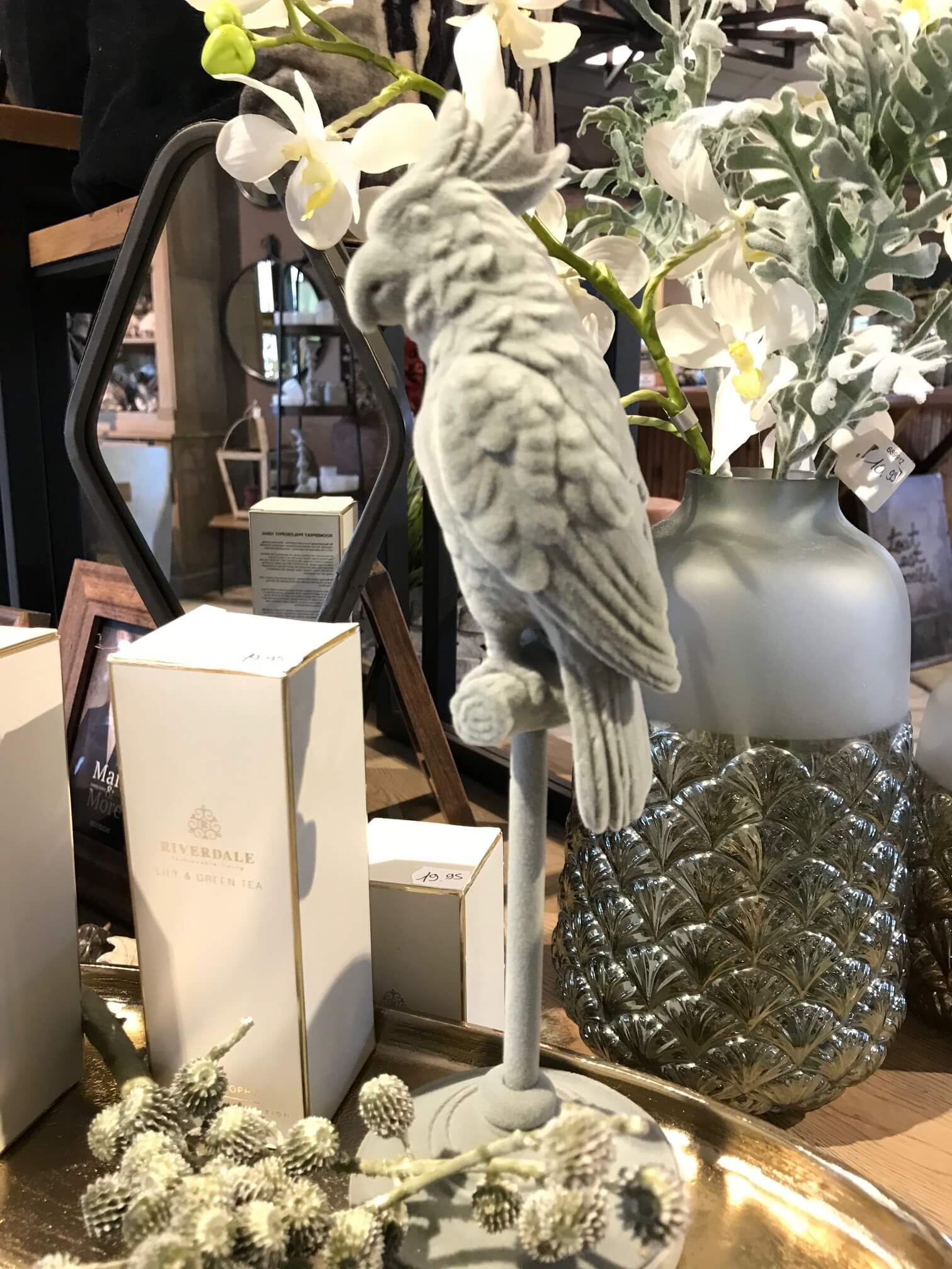perroquet décoration